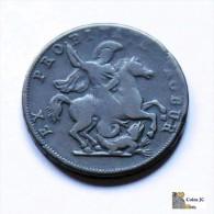Italia - Génova - 4 Soldi - 1814 - Colonies