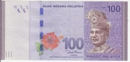 New MALAYSIA 100 Ringgit Pik55 - Malaysia