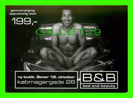 PIN-UPS MAN - HOMME NU - B & B BED AND BEAUTY - GO-CARD No 3423 - - Pin-Ups