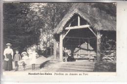 L 5600 BAD MONDORF, Pavillon En Chaume Au Parc, 1913, Schumacher - Bad Mondorf