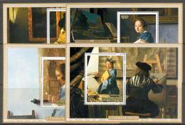 COB BL62/65 Schilderijen-Tableaux Jan Vermeer 1975 MNH-postfris-neuf