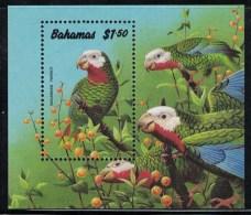 Bahamas. Bahamian Parrot. 1990. MNH SS. SCV = 13.00 - Parrots