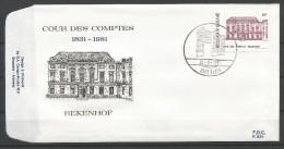 ENVELOPPE FDC (P 630)  TP N° 2017 (CACHET POSTAL DE EEKLO) - FDC