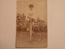 Cpa Vélo Bicyclette Cycliste - Cartoline