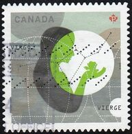 Canada - Scott #2454  Signs Of The Zodiac, Virgo (*) / Used Stamp - Astrology