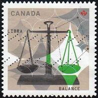 Canada - Scott #2455  Signs Of The Zodiac, Libra (*) / Used Stamp - Astrology