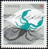 Canada - Scott #2456  Signs Of The Zodiac, Scorpio (*) / Used Stamp - Astrology