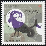 Canada - Scott #2458  Signs Of The Zodiac, Capricorn (*) / Used Stamp - Astrology