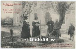 La Guerre En Lorraine En 1914-15 - Sœur Julie, Décorée De La Légion D'Honneur - Une Tombe Dans La Cour Du Château - Gerbeviller