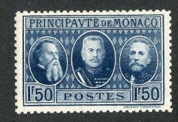 M-132  Monaco 1928  Michel #109*  Offers Welcome! - Mónaco