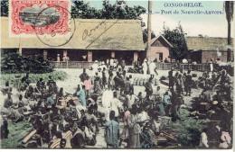 Congo Belge Port De Nouvelle Anvers N° 8 Couleur - Congo Belge - Autres