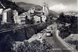 Laigueglia - Savona - Via Aurelia - 6 - Formato Grande Viaggiata - Savona