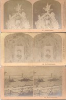 ESTEROSCOPICAS VUE STEREOSCOPIQUES STEREO CARD KILBRUN BROTHERS LITTLETON NEW HAMPSHIRE USA LOTE 11 DIFFERENT - Stereoscoopen