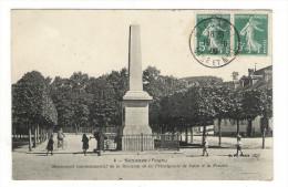 VOSGES  /  SENONES  /  MONUMENT  COMMEMORATIF  DE  LA  REUNION  DE  LA  PRINCIPAUTE  DE  SALM  À  LA  FRANCE - Senones