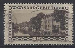 Germany (Saargebiet) 1926-27  (o) Mi.113 - 1920-35 Saargebiet – Abstimmungsgebiet