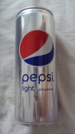 Vietnam Viet Nam Pepsi NO SUGAR 330ml SLIM Empty Can - New Design In 2015 / Opened At Bottom - Cannettes