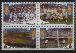 Soccer World Cup 1930 1950 Football Field Trophy URUGUAY Sc#1871 MNH Stamps Cv$9 - Ohne Zuordnung