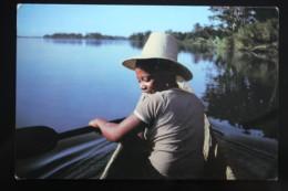 Madagascar -  Old Postcard   - Piroguiere - Rowing - Madagascar