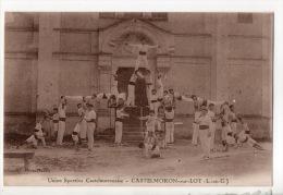 47 - CASTELMORON-SUR-LOT . UNION SPORTIVE CASTELMORONAISE - Réf. N°9255 - - Castelmoron