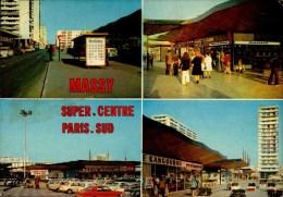 91-MASSY..SUPER CENTRE PARIS SUD....4 VUES....CPM - Massy