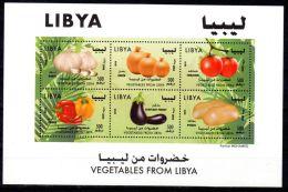 2014, Légumes De Libye, YT 2600 - 2605, Neuf ** En Minifeuille, Lot 43259 - Libia