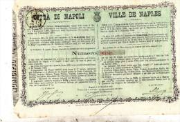 1881 NAPOLI - Azioni & Titoli