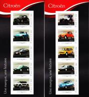 France 2014** - Collector Citroën N°1 Et 2 ( Tirages Limités ) - Cars