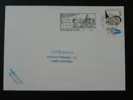 36 Indre Chatillon Sur Indre - Flamme Sur Lettre Postmark On Cover - Marcophilie (Lettres)