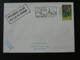38 Isere Tignieu Jameyzieu - Flamme Sur Lettre Postmark On Cover - Marcophilie (Lettres)