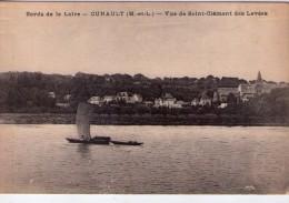 Cunault.. Chênehutte-Trèves-Cunault.. La Loire.. Gabare.. Batellerie.. Navigation - Francia