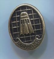 Badminton Sport - Russian Pin, Vintage Badge - Badminton