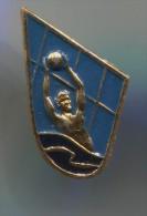 Water Polo, Pallanuoto, Swimming - Russian Vintage Pin Badge - Water Polo