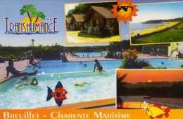 17  BREUILLET Camping La Transhumance Route De Royan, Piscine - Autres Communes