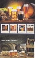 1341b: Austria, Beers- 4 Postfrische ** Stamps Limited Edition+ 2 Illustrations - Beers