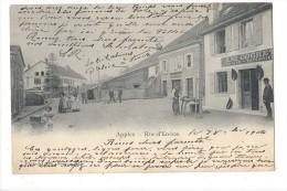 12472 - Apples Rue D'En-Bas Ami Cochet Sellier - VD Vaud