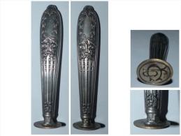 PRIX EN BAISSE !!! SCEAU 19e ARGENT MINERVE ART NOUVEAU TOUT OUVRAGé MONOGRAMME - Seals