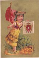Chromo 1900  Portugal  / Drapeau ,écusson,blason - Cromo
