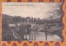 1 Cpa - 40 - Au Pays Landais Muletier Et Blanchisseuses - Unclassified