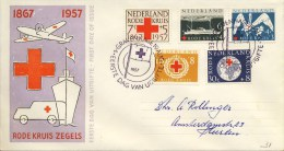 E31 - Met Adres / Open Klep (CW = € 17,50) - FDC