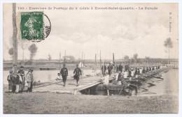 CPA Militaria - Écourt Saint-Quentin - Exercice De Pontage Du 3e Génie - La Parade - Manovre