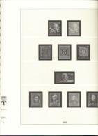 BRD Deutschland Lindner Artikel 120 B Vordruckblätter 1949 - 1969 Gebraucht Ohne Marken - Albums & Binders