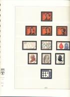BRD Deutschland Lindner Artikel 120 B Vordruckblätter 1974 - 1982 Gebraucht Ohne Marken - Albums & Binders