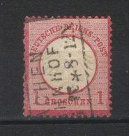 N° 4  (1872) Petit  écusson - Deutschland