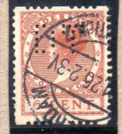 PAYS BAS : TP N° 139 B ° - 1891-1948 (Wilhelmine)