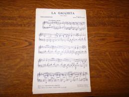 La Gauchita  ( Paso Doble ) - Partitions Musicales Anciennes