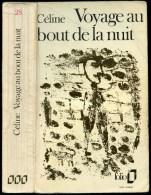 CELINE Louis-Ferdinand. Voyage Au Bout De La Nuit (couverture Dubuffet) - Livres, BD, Revues