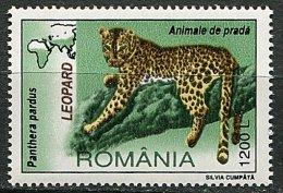 (cl 15 - P33) Roumanie ** N° 4039  (ref. Michel Au Dos)  - Léopard  - - Unused Stamps