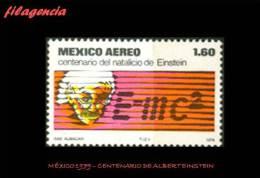 AMERICA. MÉXICO MINT. 1979 CENTENARIO DE ALBERT EINSTEIN - Mexique