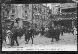 42 ROANNE FESTIVAL DE MUSIQUE CARREFOUR HELVETIQUE ANIMATION ET CARTE SUPERBE - Roanne