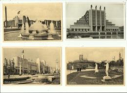 Bruxelles Expo 35 Exposition 1935 ( Lot De 4 Cartes ) - Universal Exhibitions